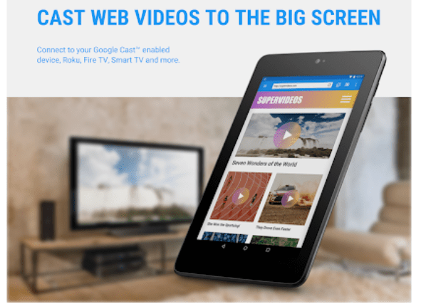 Web Video Cast  for Windows
