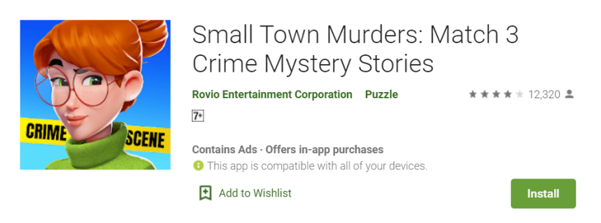 Small Town Murders PC