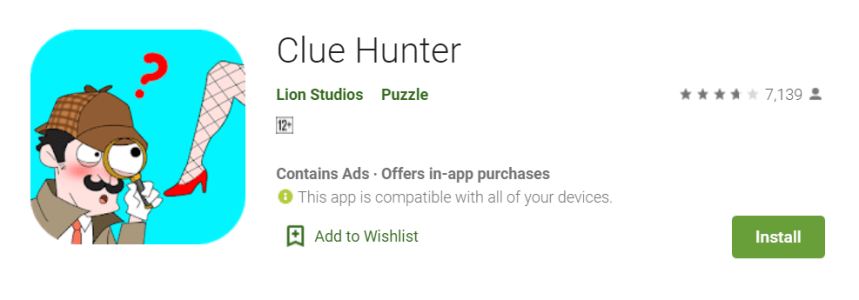 Clue Hunter for PC