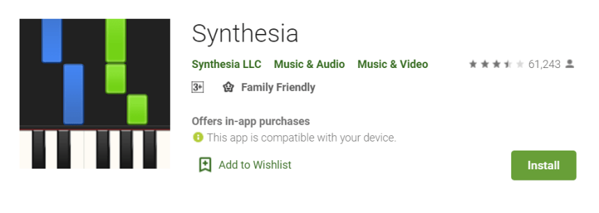 Synthesia for Mac