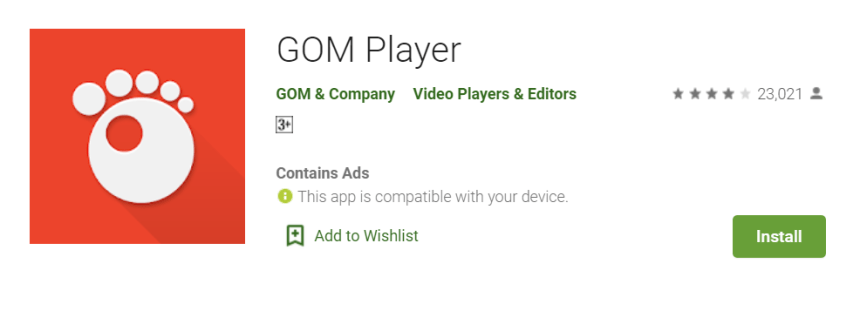 GOM Player for Mac