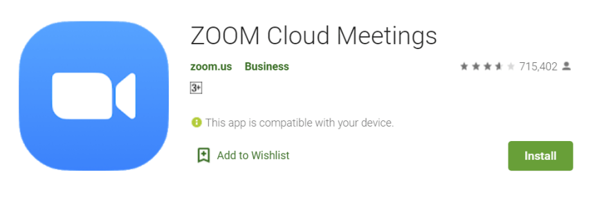 Zoom Cloud Meetings for Mac