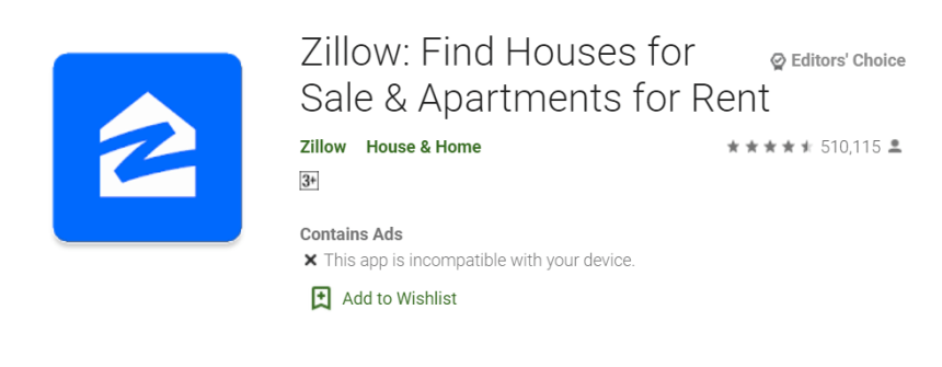 Zillow for Mac