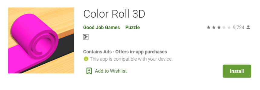 Color Roll 3D for Mac