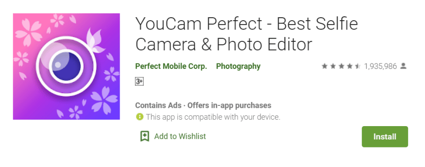 YouCam Perfect for Mac