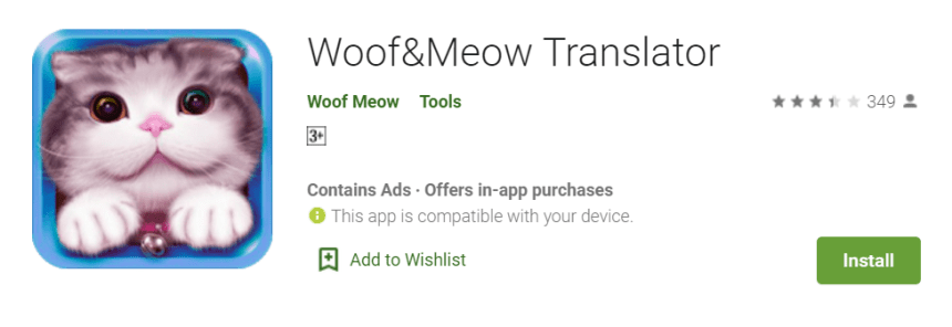 Woof and Meow for Mac