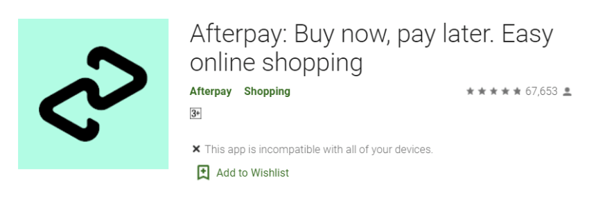 Afterpay for Mac