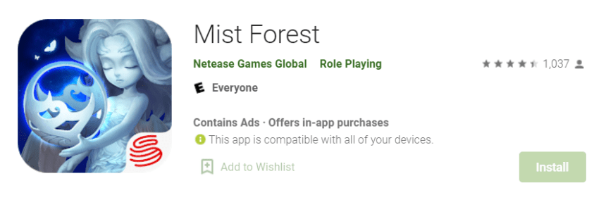 Mist Forest for Mac