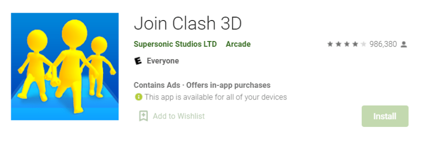 Join Clash 3D for Mac