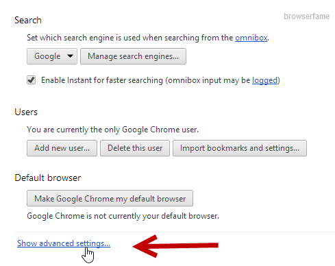 How to Disable Omnibox in Chrome?