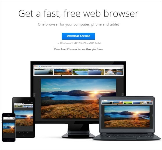 Download Google Chrome Offline Installer for Windows 10
