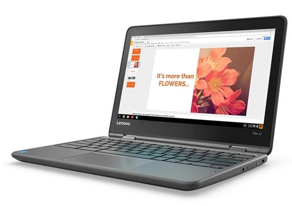 lenovo flex 11 chromebook front