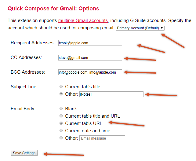 quick-compose-gmail-extension-options