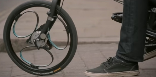 スポークの無い自転車Loopwheels