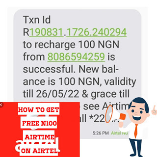 How to get free N100 airtime via mSurvey on Airtel