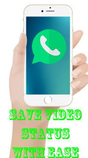 how to save WhatsApp video and image status