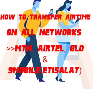 How to transfer airtime on all networks