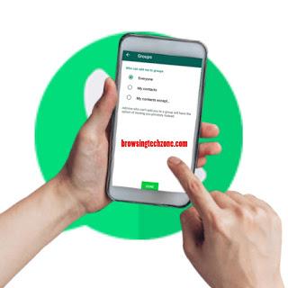 WhatsApp security settingsWhatsApp security settings