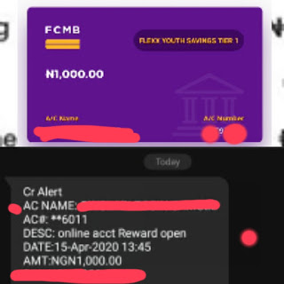 FCMB Promo alart