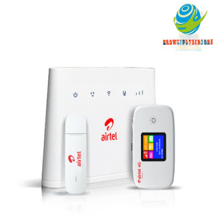 Airtel router device
