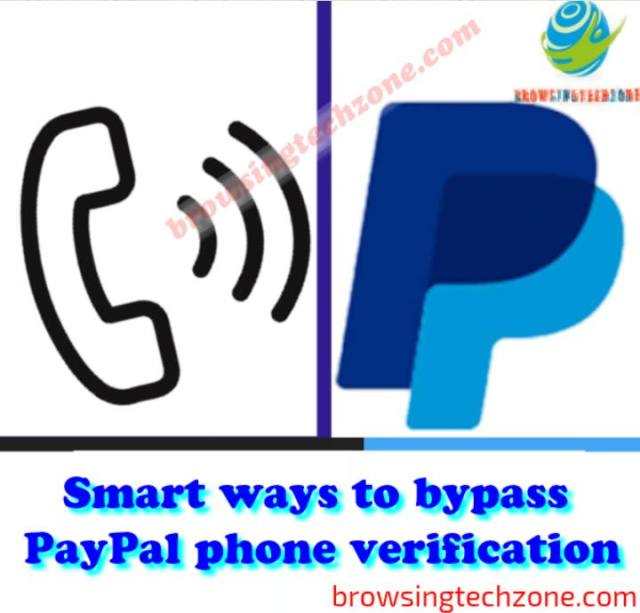 how to bypass PayPal phone verification