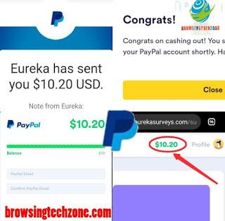 how to make money on eureka survey