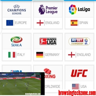 how to stream live football matches on mobile phone and pc