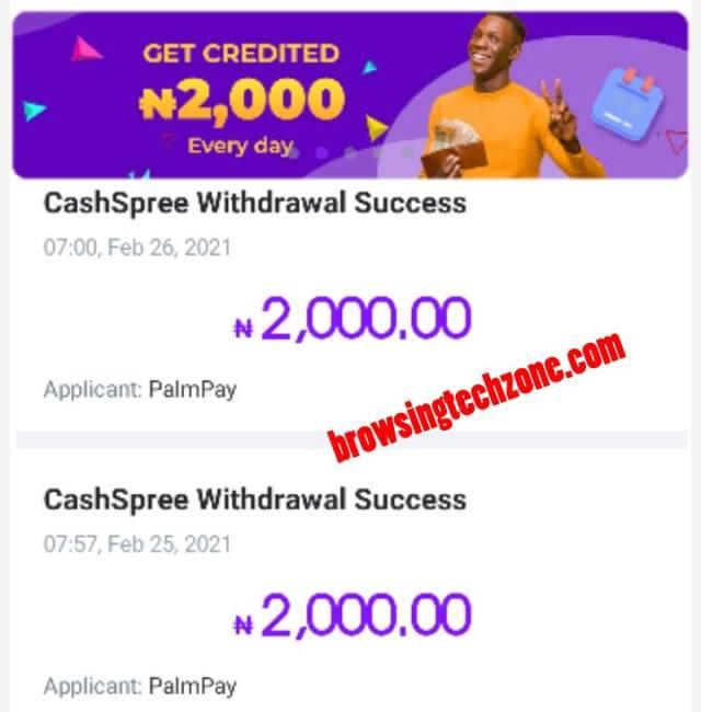 cash spree
