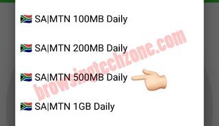 SA|MTN 500MB Daily
