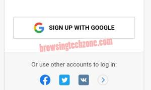 CryptoTab mining account registration