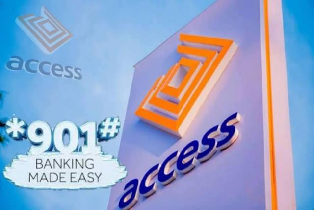 Access bank transfer code