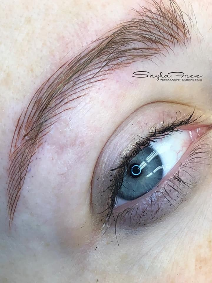 Extreme Natural Microbladed Eyebrows by Bliss Beauty & Brow Boutique in Kansas City