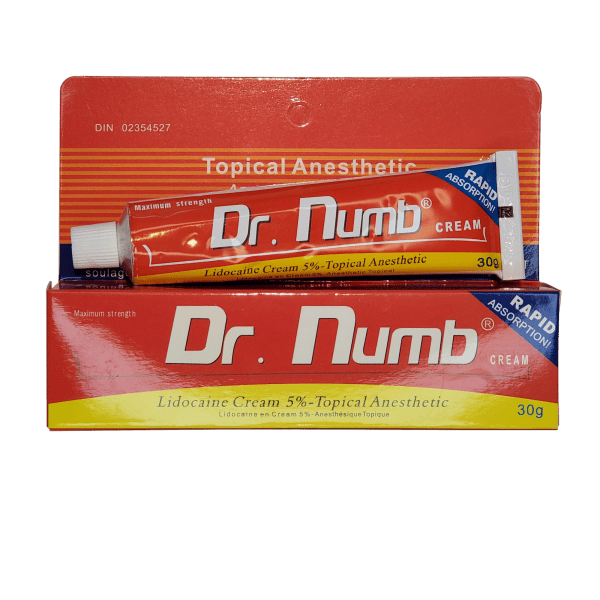 Dr. Numb – 5% Lidocaine only