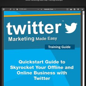 Download Twitter Business In a Box PLR