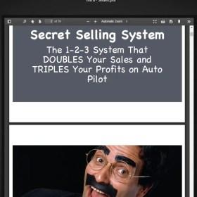 Download Perry Belcher - Secret Selling System