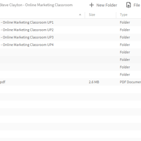 Download Aidan Booth and Steve Clayton – Online Marketing Classroom