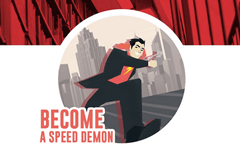 Jonathan Levi – Become a Speed Demon!