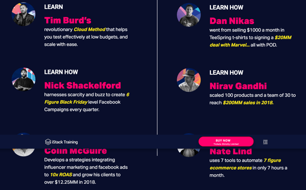Download Istack Training – Facebook & Ecom Mastery event Las Vegas Replay 2019