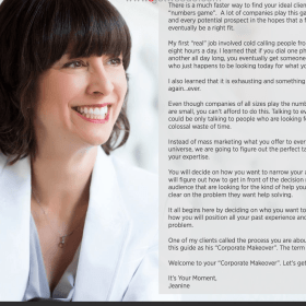Download Jeanine Blackwell – Get Corporate Clients