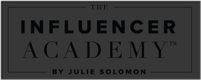 Julie Solomon – The influencer Academy