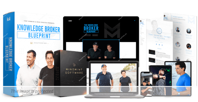 Tony Robbins, Dean Graziosi – The Knowledge Broker Blueprint