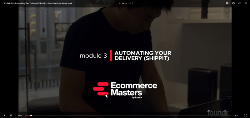 Download Foundr – Ecommerce Masters 2020