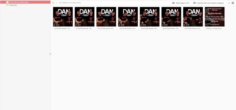 Download Dan Lok – YouTube Secrets