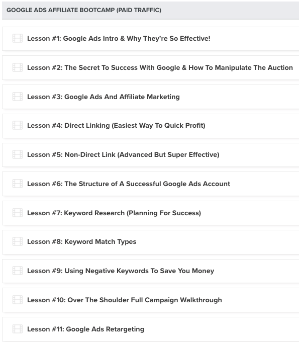Download Liam James Kay – Google Ads Bootcamp