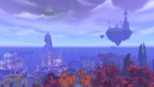 Minimalism to the World of Warcraft Dalaran