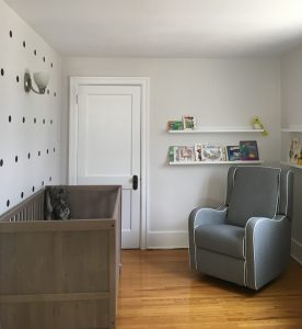Embracing Minimalism Baby Room