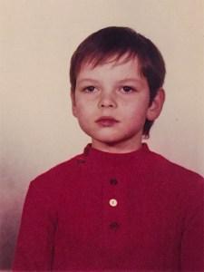 Der Autor mit circa 10 Jahren