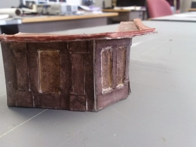 Model of the bar - created by set designer Nimon Ibrahimaj (Savage in Limbo)
