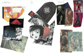 Scenographic Design Collage for Winter Play (By JBWC Students)