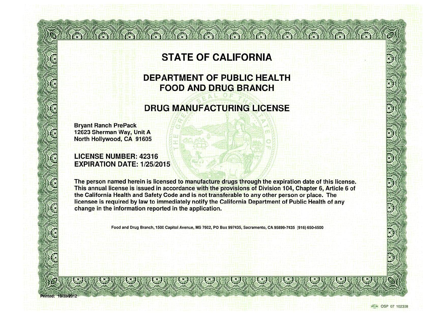 Six members must be pharmacists licensed to practice in arizona. Utah Department Of Insurance Licensing: Arizona Pharmacy ...